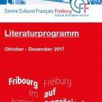 Zum Buchmessen-Schwerpunkt Frankreich gestaltet das Centre Culturel Français von Oktober bis Dezember ein Literaturprogramm mit Lesungen, Gesprächen und Musik.