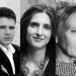 Lyrik in der Baumschule. Marcel Beyer, Daniela Danz und Esther Kinsky: Dämonenräumdienst, Wildniß, Schiefern, am 10. Juli.